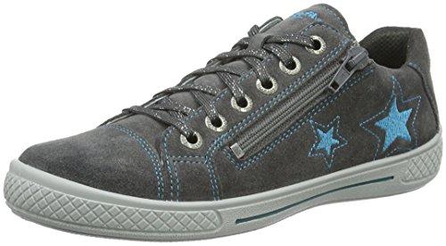 Superfit TENSY 708107, Mädchen Sneakers, Grau (STONE KOMBI 06), 30 EU