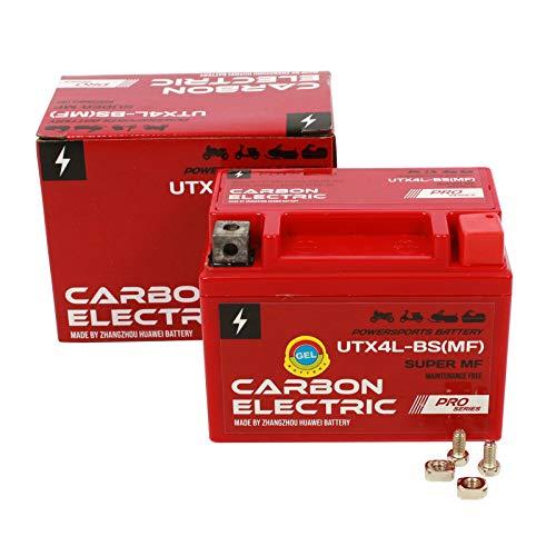 Gel Batterie YTX4L-BS 12V 4Ah Vorgeladen Versiegelt Wartungsfrei vergleichbar YTX5L-BS YB4L-B