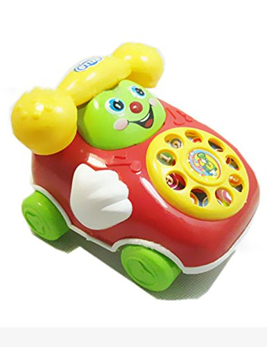 HOTLISTA Baby Toys Cartoon Car Phone Kids Educational Developmenta Push & Pull Toys