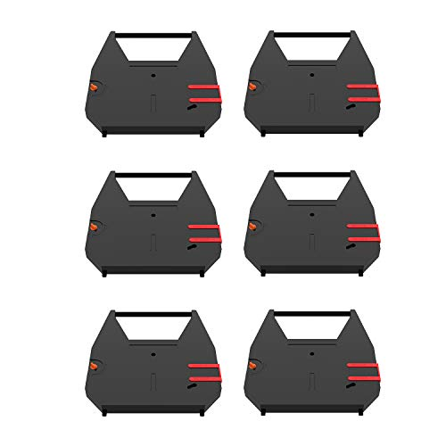 Bigger 6-Pack Replacement for Brother 7020 Ribbon - CE-25 35 40 45 50 50XL 58 60 65 68 70 333 CX-80 90 95 PRO-400 420 440 460 EM-401 411 430 450 530 550 630 WP-55 200 500 510+ 650 Correctable Ribbon