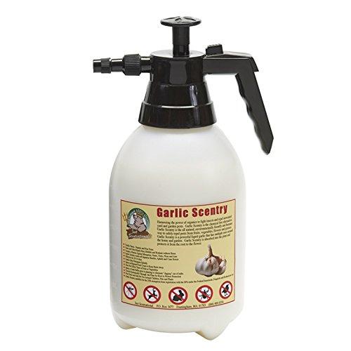 Just Scentsational GAR-2L All Natural Liquid Garlic Pest & Insect Repellent with Pump Sprayer, 64 oz (2 Quarts)