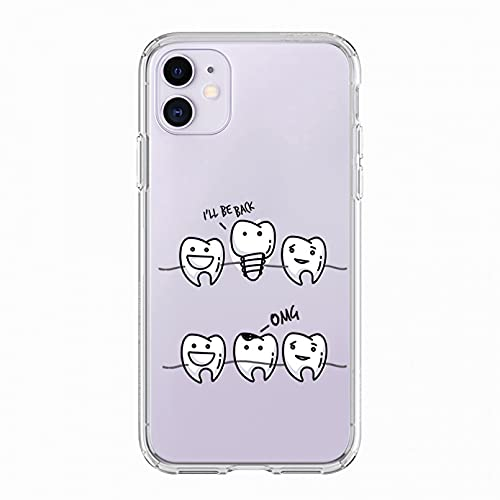 KBFHD Funda de teléfono para iPhone 11 Funda para iPhone 11 Pro XR 7 X XS MAX 8 6 6S Plus 5 5S SE Silicona atrapasueños Cubierta Capa