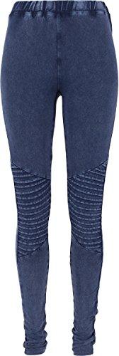 Urban Classics Damen Ladies Denim Jersey Leggings, Blau (Indigo 438), 50 (Herstellergröße: 5XL)