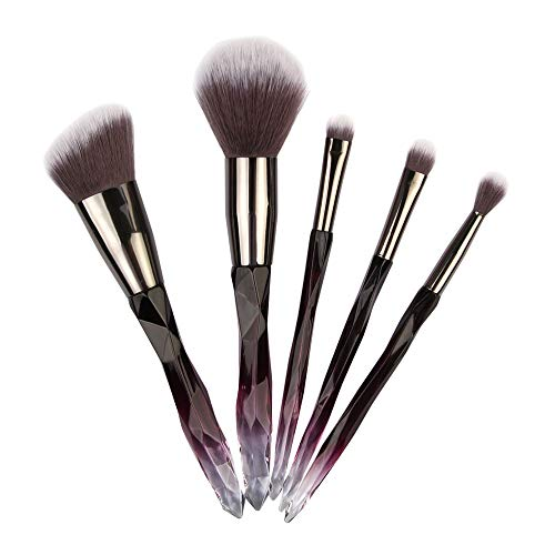 Professional 5 pcs pinceau de maquillage multifonctionnel de fondation Mode Conception Make Up Brosses maquillage base sourcil eyeliner blush pinceaux cosmétique anticernes