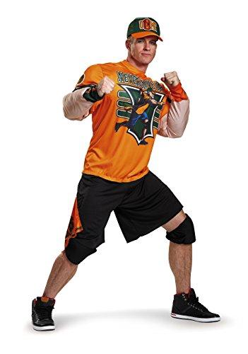 Disguise Herren WWE John Cena Muskelkostüm - Orange - XX-Large