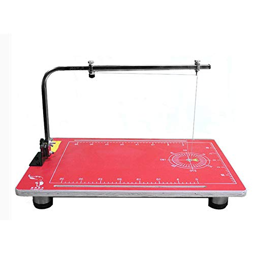 Find Discount INTBUYING 110V Vertical Foam Cutting Machine Wire Foam Cutter Table with 15×30.7inch