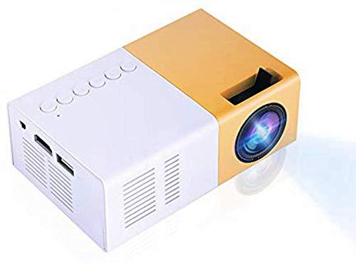 Tonysa - Mini proyector de Cine en casa portátil LED, 1080P HD...