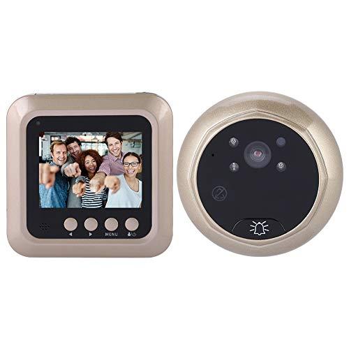 Digital Door Viewer, 2.4 Inch 1080P Peephole Door Camera, Home Security Doorbell with 166 Degree...