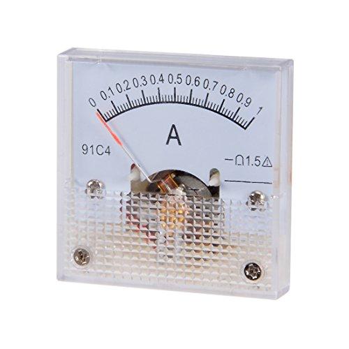 sourcing map 1 Stk Analoger Stromzähler 91C4-A Amperemeter für die Schaltungsprüfung DC 1A DE de