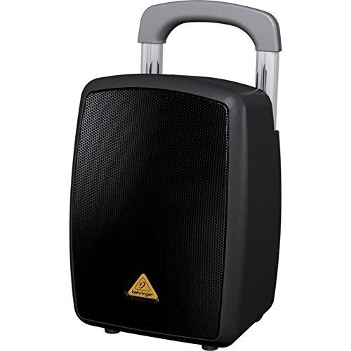 Behringer Europort MPA40BT-PRO Lautsprecher (2-Wege, 1.0-Kanal, kabelgebunden & kabellos, XLR/6,3mm, 45 – 18000Hz, schwarz)