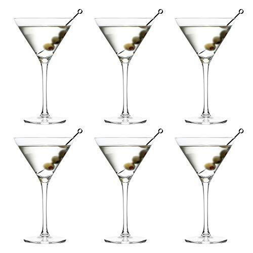 Verre à Cocktail Martini Joya de Libbey - 260 ml / 26 cl - 6 Pièces - Vont au lave-vaisselle - Parfait pour un cocktail à la maison