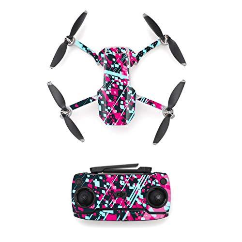 GzxLaY Pegatina de Piel de Estilo de Manchas de Colores dji Mavic Mini Drone y Pegatina de Control Remoto Cubierta de Pieles de Vinilo M0022 Quadcopters Piezas Accesorios