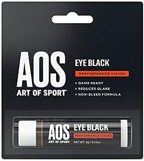 Art of Sport Eye Black for Athletes, Anti-Glare Sun and Stadium Light Protection, Paraben-Free, Use for Baseball, Football, Softball, Lacrosse, 0.15 oz
