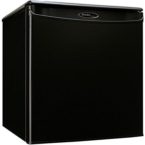 Danby Designer 1.7 cu. ft. Compact Refrigerator (DAR017A2BDD), Black