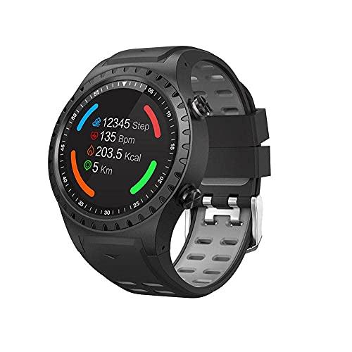 XYJ Smart Watch 1 Tarjeta de 3 Pulgadas Deportes Smart Watch GPS Posicionamiento al Aire Libre Tiempo al Aire Libre Altitude Compass Waterproof Sports Watch para Android y iOS (Color : B)