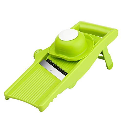 7 in 1 Vegetable and Onion Choppers, Mandolin Slicer and Food Dicer Multifunctional Cutter Includes Mandoline,Spiral and Ribbon Slicer Best for Potatoes, Carrots and Tomatoes