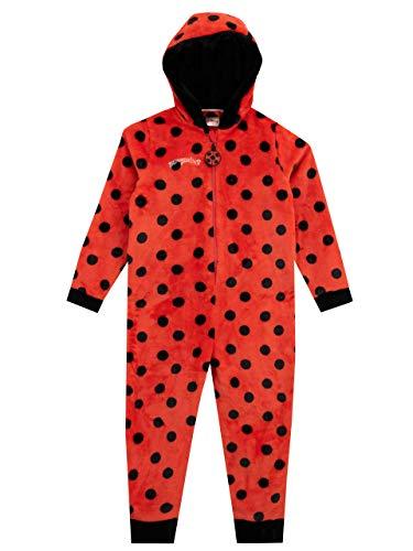Miraculous Pijama Entera para niñas Ladybug Rojo 6-7 Años