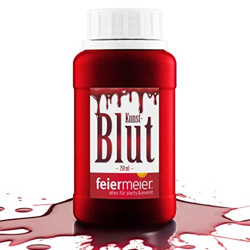 Sangre artificial Sangre falsa sangre color rojo / artificial sangre para Halloween Sangre de vampiro / 250ml