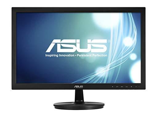 Asus VS228NE 54,6 cm (21,5 Zoll) Monitor (Full HD, VGA, DVI, 5ms Reaktionszeit) schwarz (Generalüberholt)