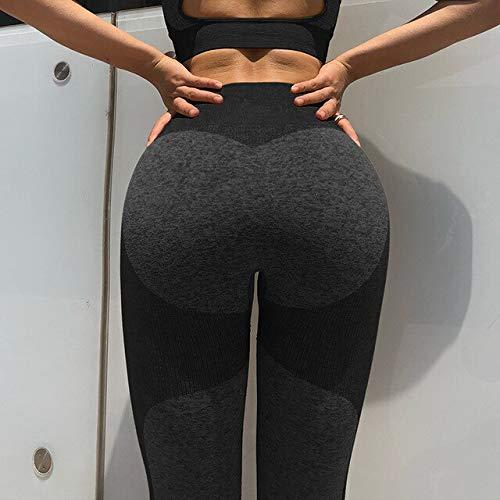 ayingzhenxiao Yoga Set Reggiseno Sportivo e Leggings Jogging Set da Palestra per Donna Abiti da Allenamento Senza Soluzione di continuità Calzamaglia da Allenamento Fitness da Donna L 3pant