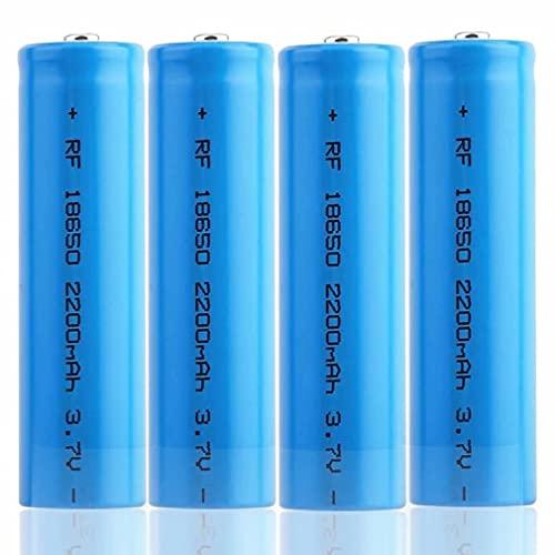 kally Batería 18650 Recargables Batería 3,7V 2200MAh ICR Li-Ion Alta Capacidad Batería...