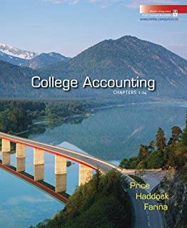College Accounting Ch 1-24 W/Home Depot 2007 Annual Report ,Ed. :12