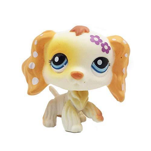 MKDLB Lps Pet Shop Toys,Shorthair Pink Cat Shepherd Dog Children Gifts