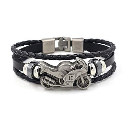 Ibralet Bracelet en Cuir pour Ho...