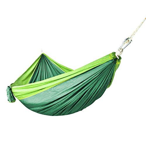 MONEYY Ascenseur comme Couvre-Lits Chambre Double Parachute est Une Grande Entreprise Outdoor Camping hamacs sur Ficelle 300 * 180cm
