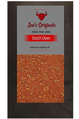 Joe\'s Originals Dutch Oven Gewürz 1000 g - Würziger Rub zum marinieren und vorbereiten von Schichtfleisch - Im Großgebinde 1 KG