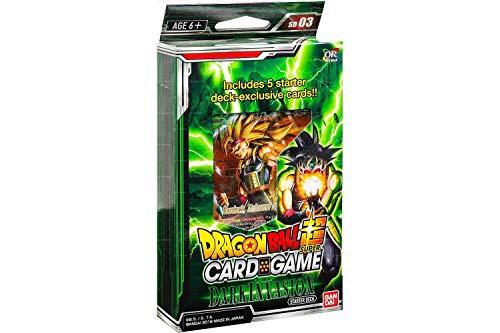 Bandai BCLDBSP7528 Dragon Ball Super Kartenspiel: Dark Invasion Starter Deck, Mehrfarbig