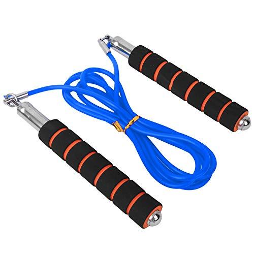 Ever Sport Jumprope, Übung einstellbares Springseil, einstellbare Sportgeschwindigkeit Jumprope Competitive Race Indoor Fitnessgeräte(Blau)