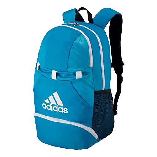 adidas(アディダス)ボール用デイパック ジュニア 小学生 サッカーボールバッグ リュック ADP28BW ブルー×ホワイト F