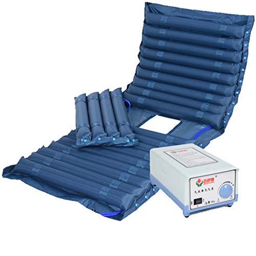 ColchóN De Aire De PVC: Incluye Bomba Inflable Sistema De ColchóN De Aire con Modo De Reposo, Capacidad De Carga ≤ 135 Kg, Color Verde Oscuro, 200 × 90 Cm