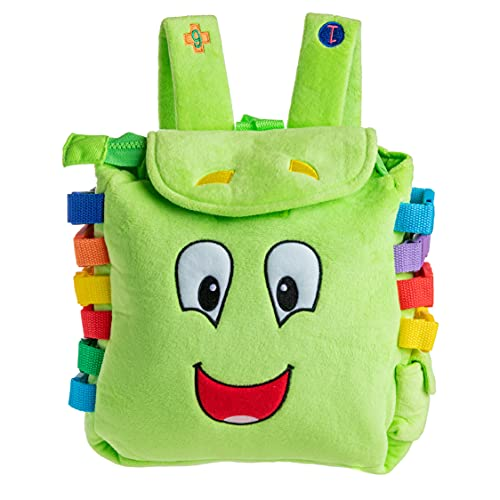 Product Image of the Buckle Toy Buddy Backpack - Toddler Busy Board Activity - Fine Motor & Sensory...
