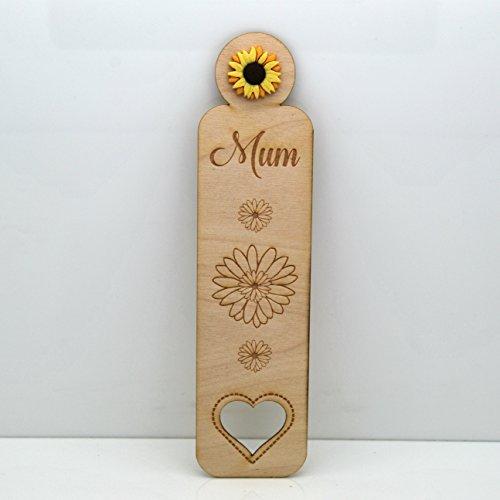 MUM/Nan–semi di girasole segnalibro–regalo ideale per la festa della mamma