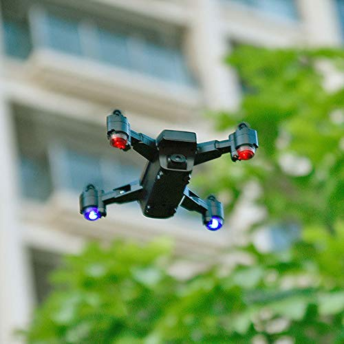 Drone Plegable GPS, Quadcopter Profesional Aéreo De Alta Definición, El Posicionamiento Inteligente Sigue Automáticamente El Avión De Control Remoto,2millionpixels+2.4g