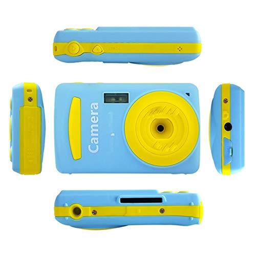 SanSiXing Útil Útil 2.4 Pulgadas Mini cámara Digital 16MP Video videocámara Multi Cámara de los niños 720p HD Mini videocámara Juguetes para niños Regalo Dar un Regalo (Color : Blue, Size : 1)