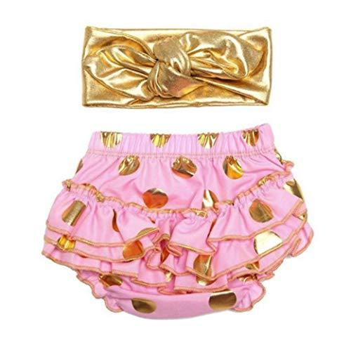 micia luxury(ミシアラグジュアリー) ベビーおむつカバー&ヘアバンド ケーキスマッシュ ハーフバースデー 誕生日 ギフト 24month ピンク