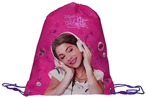 Violetta Music is My Life Kinder Schuhbeutel Sportbeutel Sport Turnbeutel Rucksack