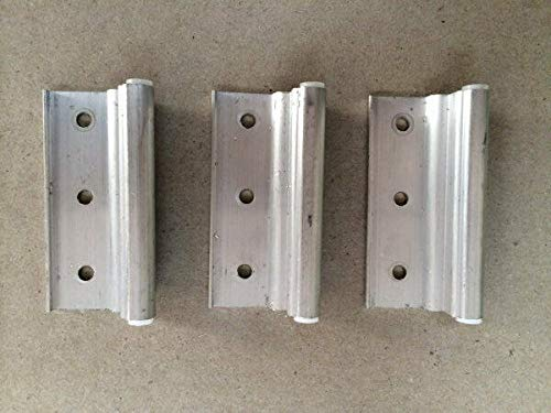 Mobile Home Parts 3 New Storm Door Hinges Aluminum-Door Hinges-Gate Hinges-Door Hinge-Cabinet Hinge-Door Hinge jig-Door Hardware-Hinges Heavy Duty-Hinge jig-Box Hinges-Interior Door Hinges