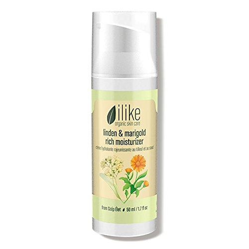 ilike organic skin care linden and marigold rich moisturizer 1.7 fl oz