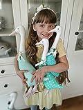 Gans Spielzeug Ostern, Ostern Dekor, Gänsespielzeug, Ostern Dekorationen, Ostergeschenke, personalisierte Ostern