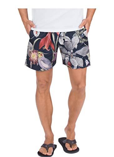 Trigema Herren 60339018 Shorts, Navy/bunt, 4XL