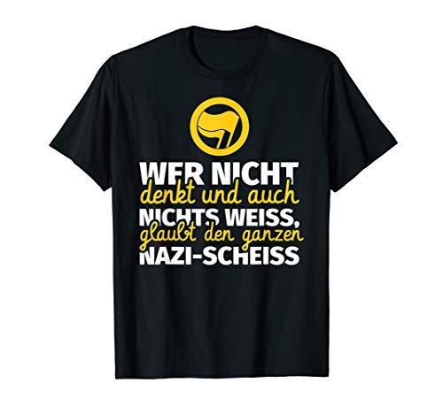 Gegen Nazis / Anti-Nazi T-Shirt / Gegen Rassismus