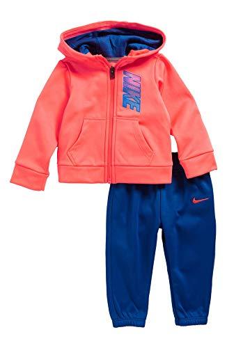 Nike 408s-u72Trainingsanzug, bebé-niños, Baby - Jungen, 408S-U72_XXS_Blanco, weiß, 24 Meses