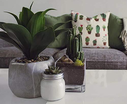 Knutselen olieverfschilderij digitale foto van planten op tafel