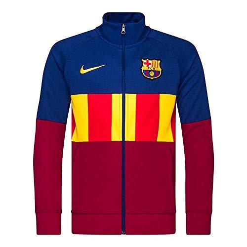 Nike 2020-2021 Barcellona I96 Anthem Giacca (Deep Royal) - Bambini
