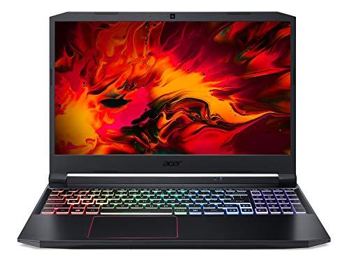 Acer Nitro 5 (AN515-55-73Y6) 39,6 cm (15,6 Zoll Full-HD IPS matt) Gaming Laptop (Intel Core i7-10750H, 16 GB DDR4 RAM, 1.000 GB PCIe SSD, NVIDIA GeForce RTX 2060, Win 10 Hom) schwarz/rot