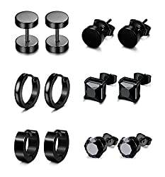 Image of Jstyle 6 Pairs Stainless...: Bestviewsreviews